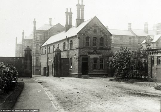 Poor House Manchester England, early 20th century